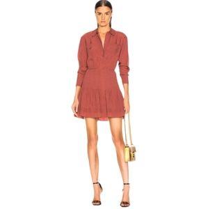 VERONICA BEARD Rory Silk Dress
